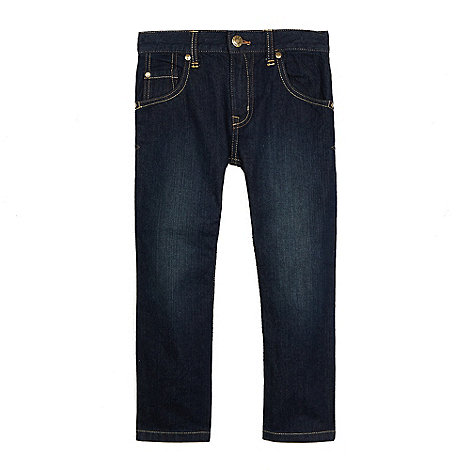bluezoo - Boy+s dark blue regular fit  jeans