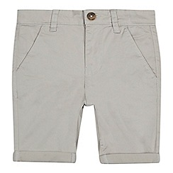 bluezoo - Boys' grey chino shorts