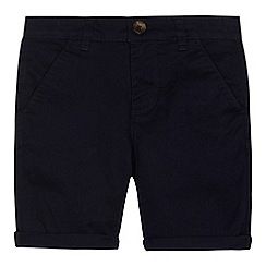 bluezoo - Boys' navy chino shorts