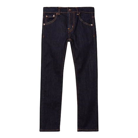 Levi+s - Boy+s dark blue 510 skinny jeans