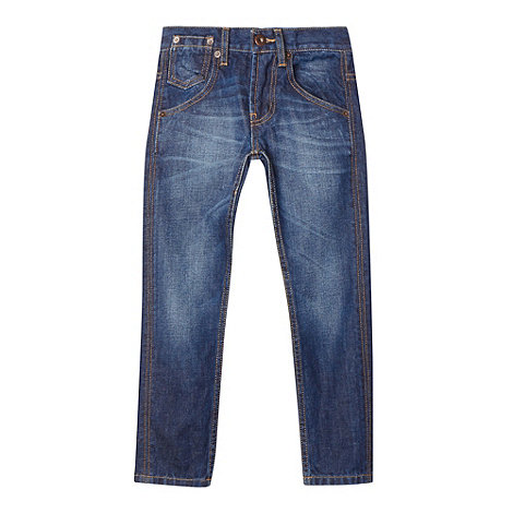 Levi+s - Boy+s blue 508 tapered jeans