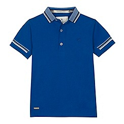 J by Jasper Conran - Boys' blue polo shirt