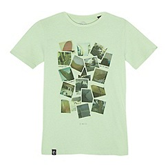 O'Neill - Boy's light green polaroid print t-shirt