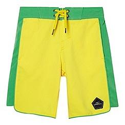 O'Neill - Boy's yellow logo shorts