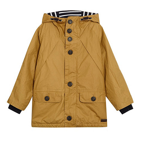 J by Jasper Conran - Designer boy+s tan lightweight parka jacket