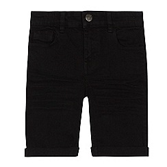 bluezoo - Boys' black denim shorts