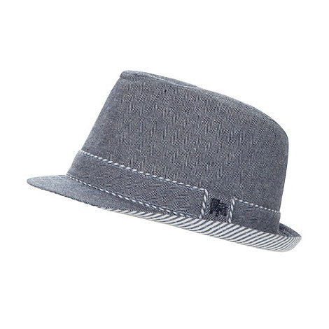 J by Jasper Conran - Designer boy+s chambray striped trilby