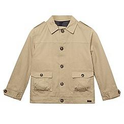 J by Jasper Conran - Designer boy's beige button through jacket