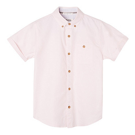 J by Jasper Conran - Designer boy+s pink oxford shirt