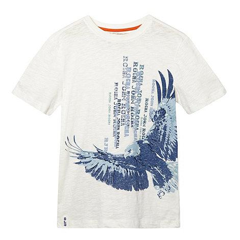 RJR.John Rocha - Designer boy+s white eagle print t-shirt