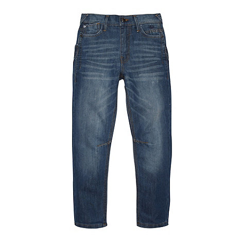 Mantaray - Boy+s blue slim leg jeans