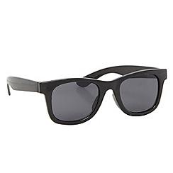 Mantaray - Boy's black plastic square lens sunglasses
