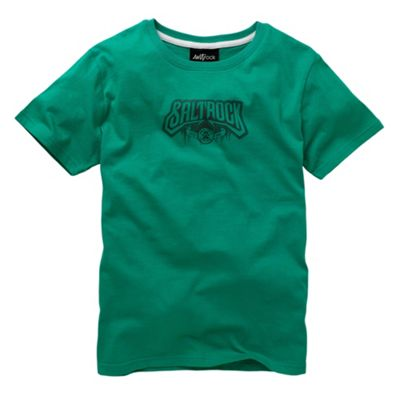 Saltrock Green back print t-shirt