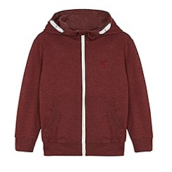 bluezoo - Boy's wine zip through hoodie