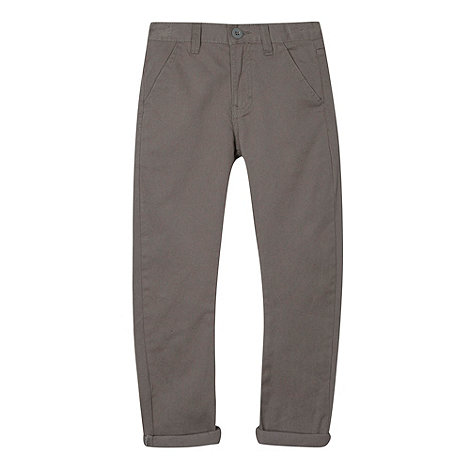 bluezoo - Boy+s light grey chinos