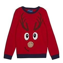bluezoo - Boys reindeer jumper