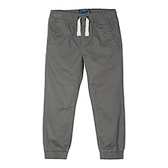 bluezoo - Boy's grey twill trousers