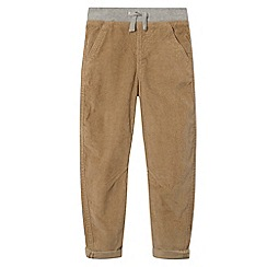 bluezoo - Boy's tan cord twisted leg chinos