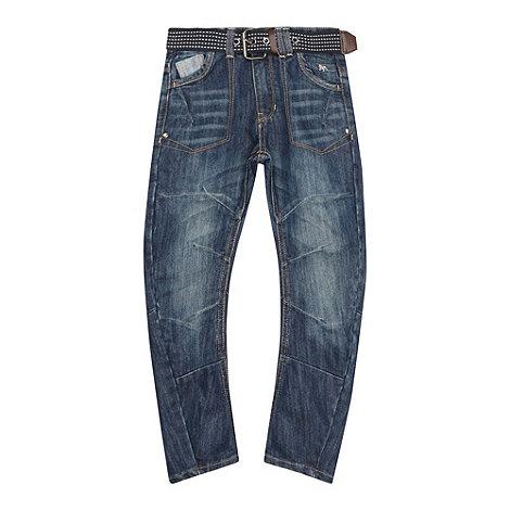 J by Jasper Conran - Designer boy+s blue carrot jeans