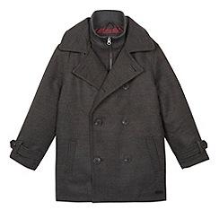 RJR.John Rocha - Designer boy's grey double breasted jacket