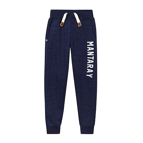 Mantaray - Boy+s navy skinny joggers