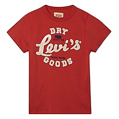 Levi's - Boy's red August t-shirt