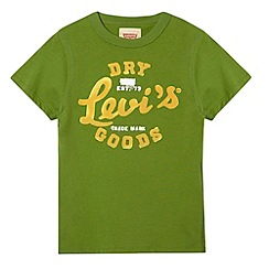 Levi's - Boy's green August t-shirt