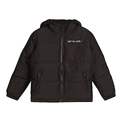 Animal - Boy's black padded jacket