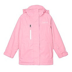 Animal - Girl's pink insulated ski jacket