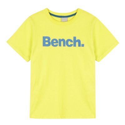 Bench Boy´s bright yellow logo t-shirt - . -