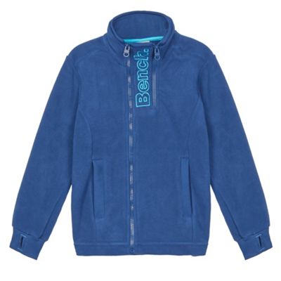 Bench Boy´s navy zipped fleece jacket - . -