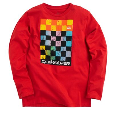 Red checkmate t-shirt