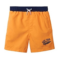 bluezoo - Boy's orange swim shorts