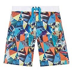 bluezoo - Boys kaleidoscope swim shorts