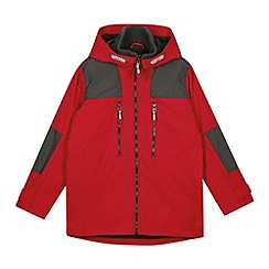 bluezoo - Boy's red cut and sew jacket