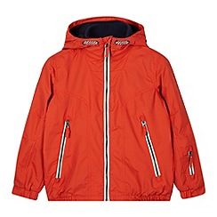 bluezoo - Boy's orange zip through jacket