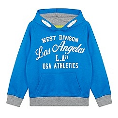 bluezoo - Boy's blue 'Los Angeles Athletics' hoodie