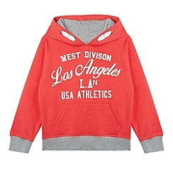 bluezoo - Boy's red 'Los Angeles Athletics' hoodie
