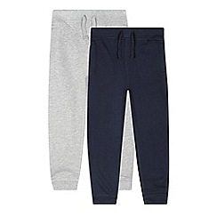 bluezoo - Pack of two boy's jersey joggers
