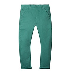 bluezoo - Green plain chinos