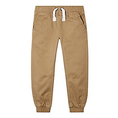 bluezoo - Boy's beige elasticated trousers