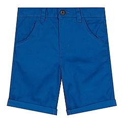 bluezoo - Boy's blue chino shorts