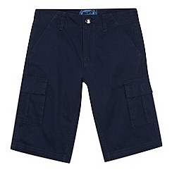bluezoo - Boy's navy cargo shorts