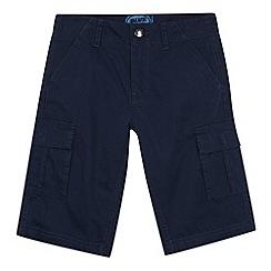 bluezoo - Boy's navy cargo shorts