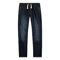 bluezoo - Boy's navy slim fit dark wash jeans
