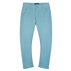 bluezoo - Boy's pale blue carrot leg chinos