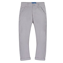 bluezoo - Boy's light grey carrot leg chinos