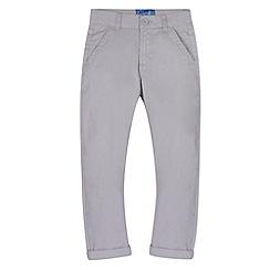 bluezoo - Boy's light grey carrot leg chinos