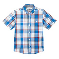 J by Jasper Conran - Designer blue large check shirt