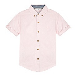 J by Jasper Conran - Designer boy's pink oxford shirt